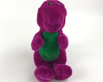 e6b4c328e9a 1992 Barney Plush Dinosaur Stuffed Animal Toy