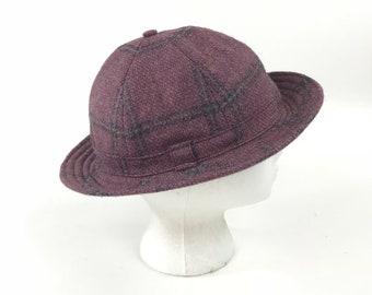 fa5598652b6 Vintage Wool Welsh Deerstalker Hat