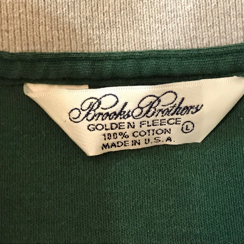 ee29f55e Vintage Brooks Brothers Golden Fleece Green Polo Shirt Mens | Etsy