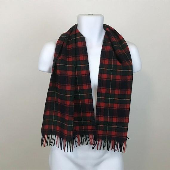 Vintage Pendleton Tartan Plaid Virgin Wool Scarf … - image 6