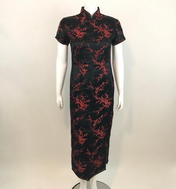 Vintage Cheongsam Qipao Chinese Dress Womens Size