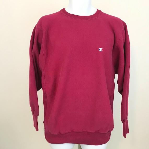 Champion Reverse Weave Pink Sweatshirt Mens XL