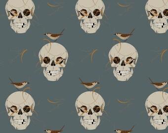 Charley Harper Halloween Wrented Poplin By Birch Fabric Sold By Half Yard