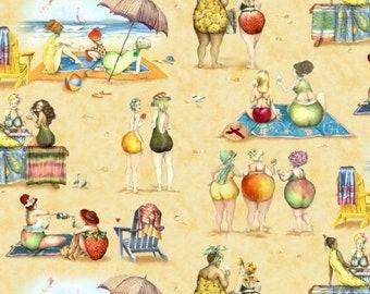 Fruit Ladies Sand By Elizabeth's Studio