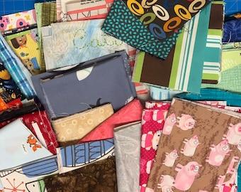 Fabric Scrap Bundle #205