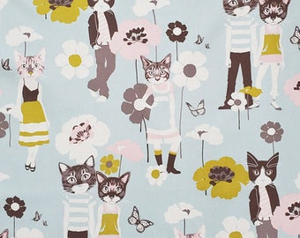 Cool Cats Gray Nicole's Prints Collection By Alexander Henry Sold By Half Yard