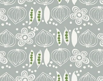 Onions And Peas Gray Cucina By Victoria Johnson For Windham Fabrics, Italian Kitchen, Cooking, Food