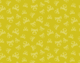 "10""x10""  Kraken Jolly Roger Tropics Fabric By RJR Fabric"