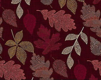Leaves Great Plains Collection By Northcott