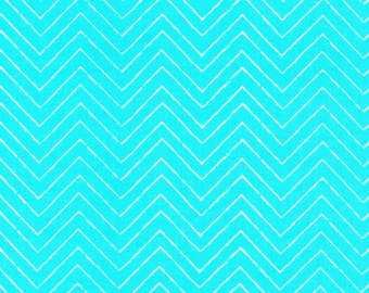 Gamma Ray Turquoise print from the Cosmic Convoy collection Cloud9 Fabrics.