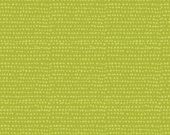 Moonscape Chartreuse By Dear Stella Fabrics