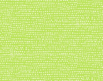 Fat Quarter Moonscape Lime By Dear Stella Fabrics