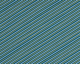 Fat Quarter Stripe Navy Seaside Collection for Windham Fabrics
