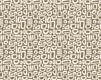 Feel the Void Contour Greenbrook For Cotton And Steel Sold By Half Yard