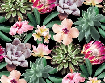Succulents From The One Of A Kind Collection By Windham Fabrics