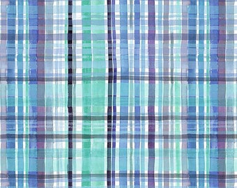 No Place Like OM Tartan Wash By Dear Stella Sold By Half Yard