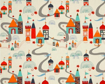 Fat Quarter Village Meander From The Tallinn Collection By Art Gallery Fabrics