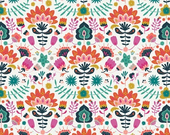 Efflorescent Vivid Lugu Collection By Art Gallery Fabrics Sold By Half Yard