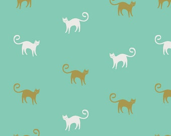 Fat Quarter Feline Good Oh Meow! Collection By Art Gallery Fabrics