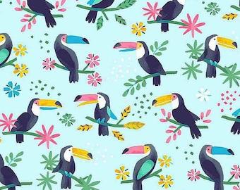 """10"""" x 10""""  Aloha Toucan Do It! Canal By Dear Stella"""