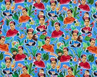 Fat Quarter Frida Multi Viva Mexico Collection By Dear Stella Fabrics