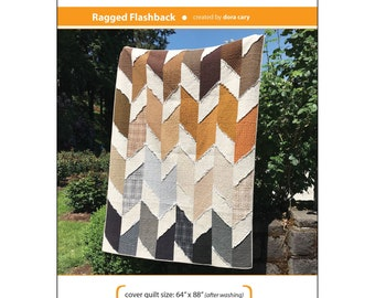 Ragged Flashback Quilt Pattern By Dora Cary Orange Dot Quilts