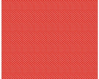 Fat Quarter Toy Dot Red Toy Chest 3 by Penny Rose Studio For Riley Blake Fabric