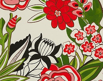 Garden at Coyoacan Folklorico Collection By Alexander Henry Fabrics, Garden, Flowers