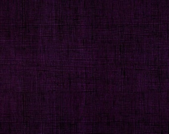 Once Upon A Time Heath Eggplant By Alexander Henry Fabrics