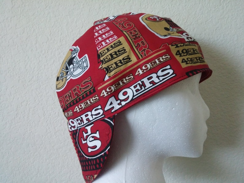 f7456dcbbf9 Welding Welders Hat Surgeon Caps San Francisco 49ers print