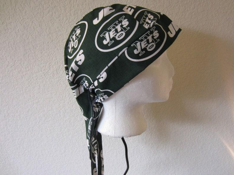 afe39747 New York Jets Welding Welders Hat Caps Surgeon Doo Rag Skullcap Do Rag  Bandana
