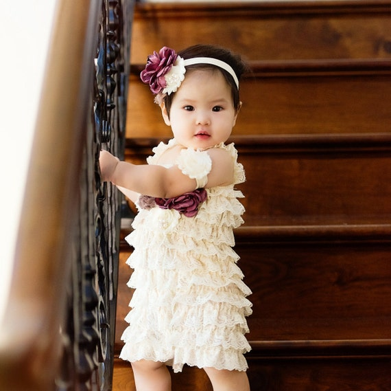 20425a98fc4 ivory lace romperbirthday ivory lace romperphoto shoot ivory