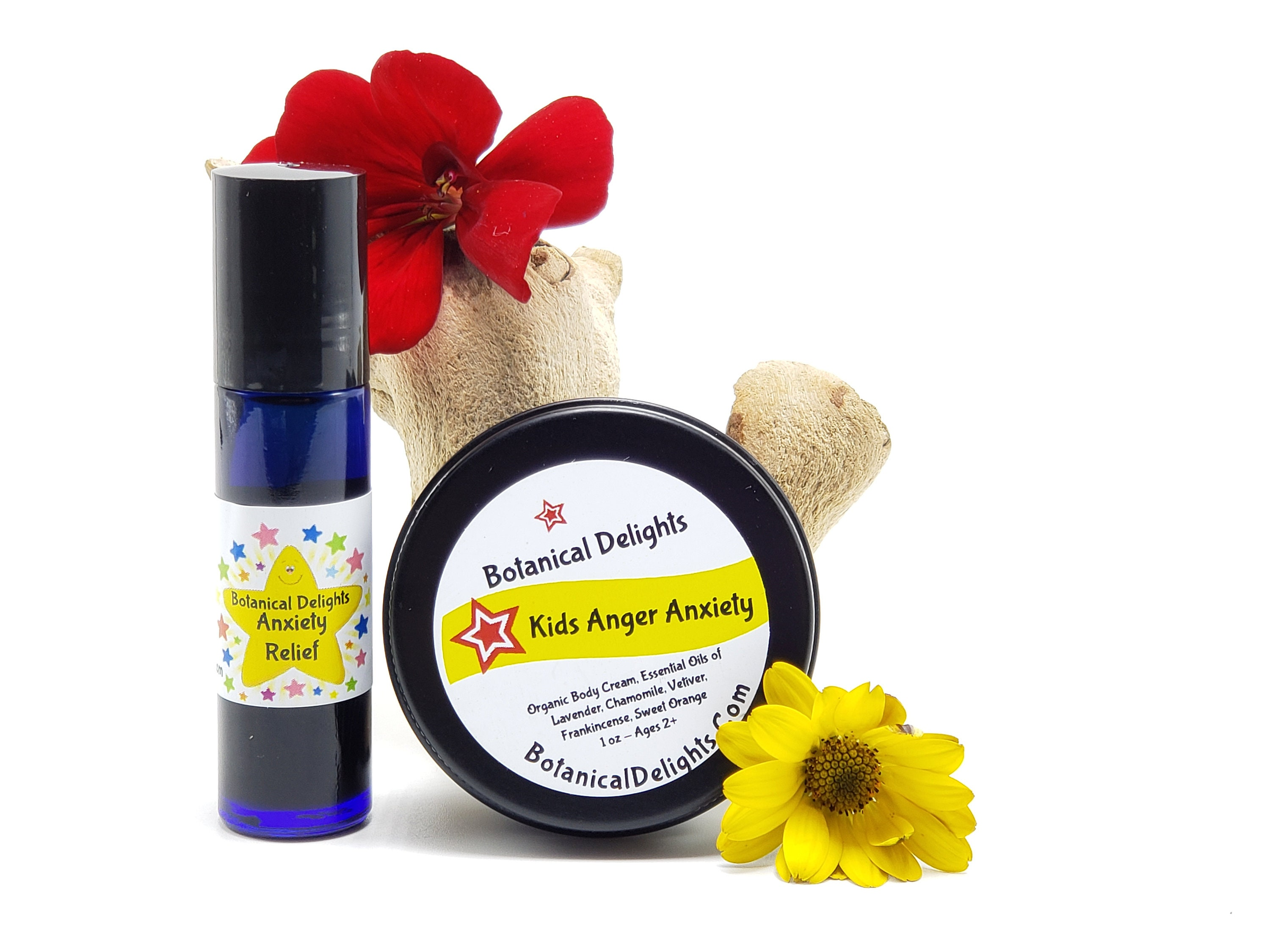 Kids Anxiety Anger Calming Set Kids Essential Oils Child Etsy