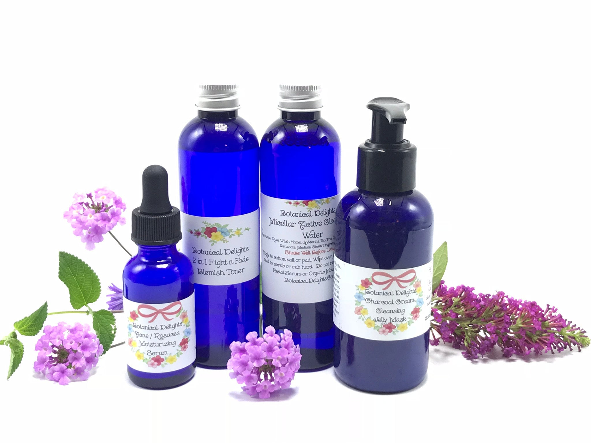 ACNE - 4 Step System - Cystic Acne, Acne, Acne Clearing, Acne Scars, Acne  Cleanser, Plant Based, MSM Sulfur, Cystic Acne Set, Acne Skincare