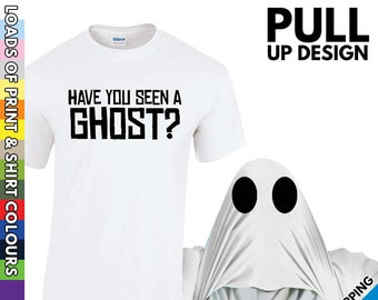 Mens Funny Ghost Trick Treats Casual Sport Vest