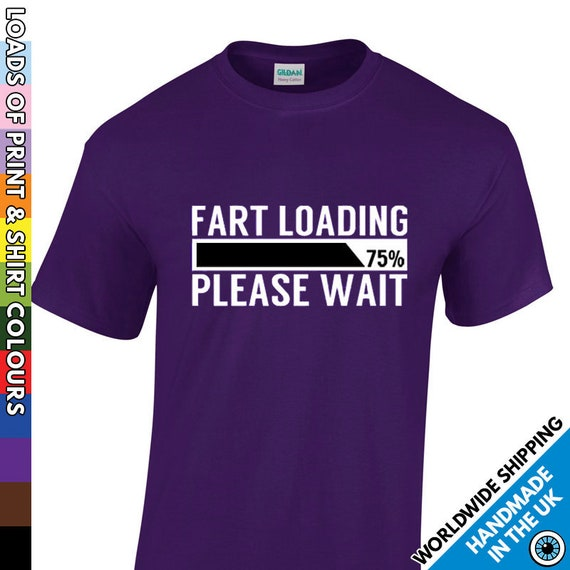 Farts Are Like Children Funny Novelty T-Shirt Mens tee TShirt