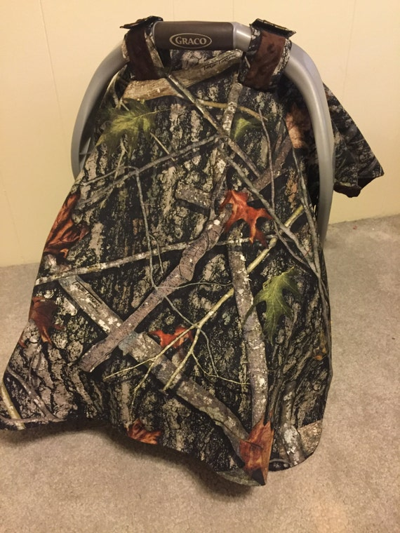 Camouflage Baby Car Seat Canopy