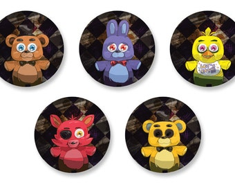 Five Nights at Freddy's Button Set