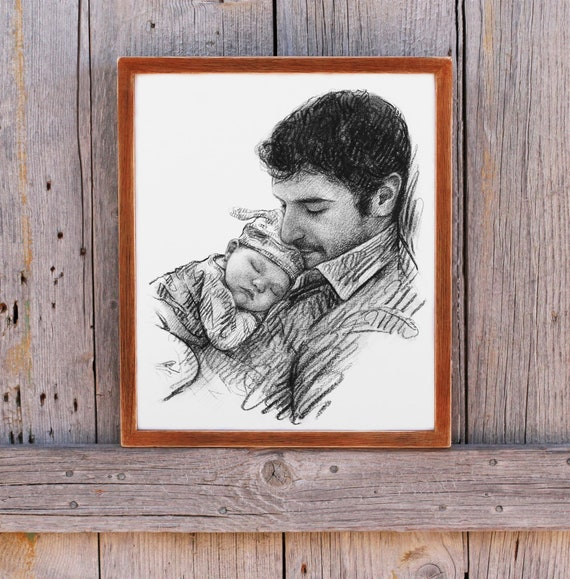 Fathers Day Gift From Daughter Son Baby First Time Dad Gift Etsy