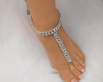 d423bb20cae3 Wedding Barefoot Sandals