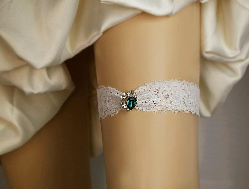 3743867de Green Wedding garter BlueRedBlack Rhinestone Garter Off