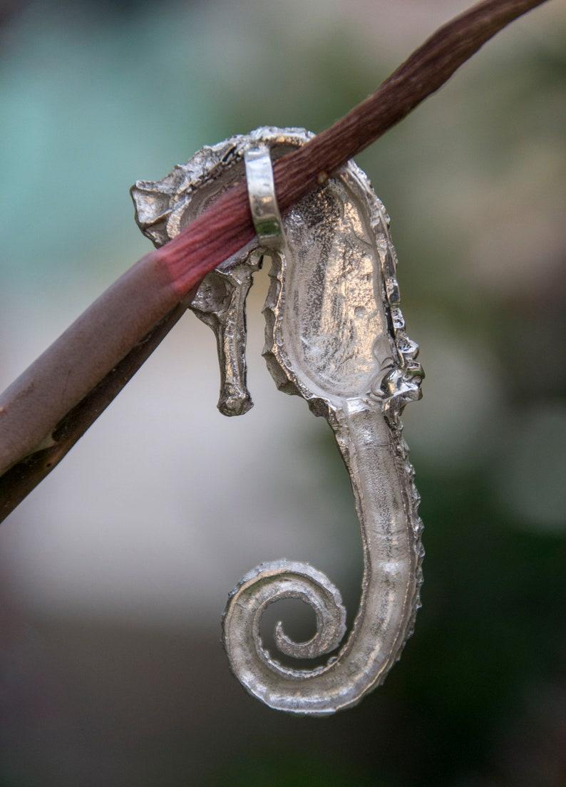 seahorse pendant.
