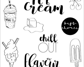 Clear stamps _ ice _ 029