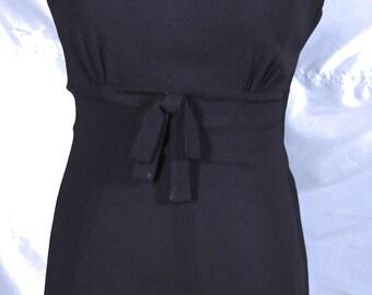 Amazing LBD Dress with Empire Waist Side Metal Zipper