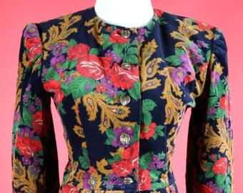 Donna Morgan for Non Stop Velvet Floral Women's Suit