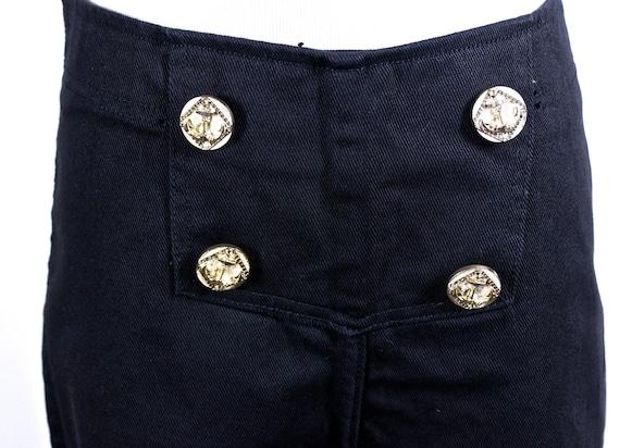 High Waisted Fredericks of Hollywood Black Jeans