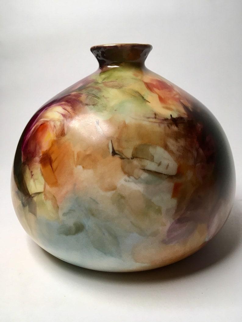 France Ceramic Vase Jean Pouyat Limoges J.P.L