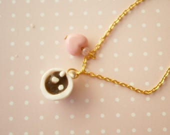 Hot Chocolate Bracelet - Miniature Food - Unique Gift Idea - Fimo Creations - Winter Jewelry - Polymer Clay Food - Hot Choco Mug - Hot Cocoa