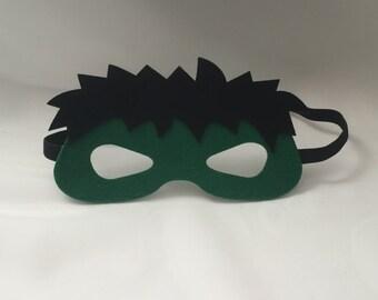 606b27191e5 Hulk mask- Birthday Marvel Avengers party favors