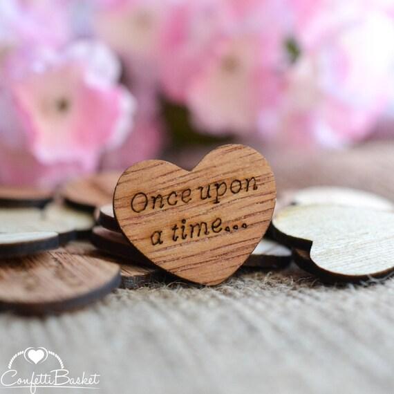 100 Einmal Holz Herzen 1 Rustikale Hochzeitsdeko Etsy